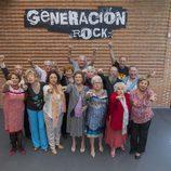 Participantes de 'Generación rock'