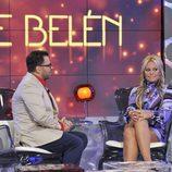 Jorge Javier Vázquez entrevista a Belén Esteban en 'Sálvame Deluxe'