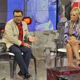 Belén Esteban y Jorge Javier Vázquez en 'Vuelve Belén'