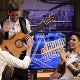 Sergio Ramos sorprendió a Pilar Rubio en 'El Hormiguero'