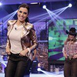 Pilar Rubio se atrevió con unos pasos de baile