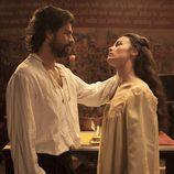 Beatriz de Osorio y el rey Fernando en 'Isabel'