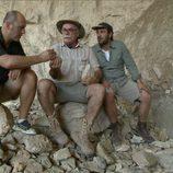 Íñigo Urrechu en un momento de 'Arqueólogo por un día'