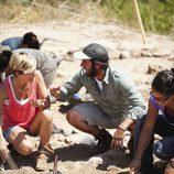 María Vasco en 'Arqueólogo por un día'