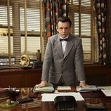 Michael Sheen interpreta a William Masters en 'Masters of Sex'