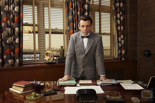Michael Sheen interpreta a William Masters en 'Masters of Sex'