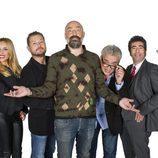 Goyo Jiménez con el equipo de 'Se hace saber'