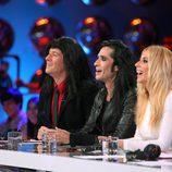 Carlos Latre, Mario Vaquerizo y Marta Sánchez en 'Tu cara me suena'