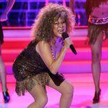 Ángela Carrasco imita a Tina Turner en 'Tu cara me suena'