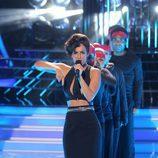 Edurne imita a Alicia Keys en 'Tu cara me suena'