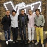 Juan Magán, Cali & El Dandee, Carlos Vives y Coti, asesores de 'La voz 2'