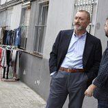 Jordi Évole junto con Arturo Pérez-Reverte