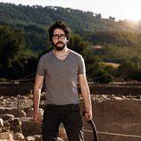 Flipy como arqueólogo