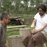 Flipy participa como arqueólogo en 'Arqueólogo por un día'