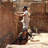 Macarena Gómez como arqueóloga