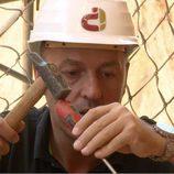 Iñigo Urrechu, concentrado en 'Arqueólogo por un día'