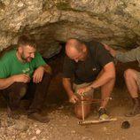 Iñigo Urrechu en el yacimiento de la Gran Dolina