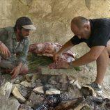 Iñigo Urrechu participa en 'Arqueólogo por un día'