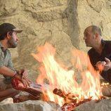 Iñigo Urrechu cocina en Atapuerca