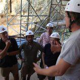 Iñigo Urrechu preparado para trabajar en Atapuerca