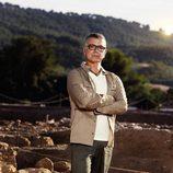 Juan Ramón Lucas, participante de 'Arqueólogo por un día'