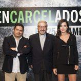 Jalis de la Serna, Padre Garralda y Alejandra Andrade, en