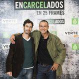 Jacobo García Guereta y Armando Rey en la exposición