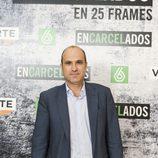 Javier Bardají en la exposición