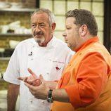 Karlos Arguiñano y Alberto Chicote en 'Top Chef'