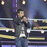 """Jorge Moreno canta en """"Las batallas"""" de 'La voz'"""