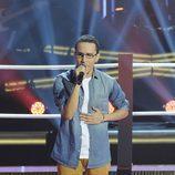 """Alejandro Udó canta en """"Las batallas"""" de 'La voz'"""