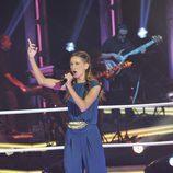 """Ainhoa Aguilar canta en """"Las batallas"""" de 'La voz'"""