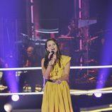 """Rocío Rivas canta en """"Las batallas"""" de 'La voz'"""
