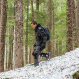 Bear Gylls en su nuevo programa, 'Escapar del infierno con Bear Gylls'