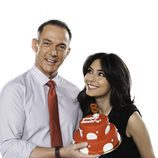 Hilario Pino y Marta Fernández celebran el octavo aniversario de Cuatro