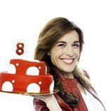 Raquel Sánchez Silva celebra el octavo aniversario de Cuatro