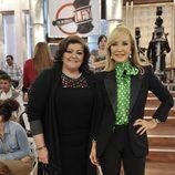 Charo Reina y Carmen Lomana en 'De buena ley'
