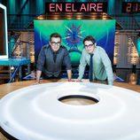 Andreu Buenafuente y Berto Romero en 'En el aire'