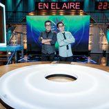 Buenafuente y Romero, presentadores de 'En el aire'