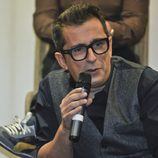 Andreu Buenafuente en la rueda de prensa de 'En el aire'