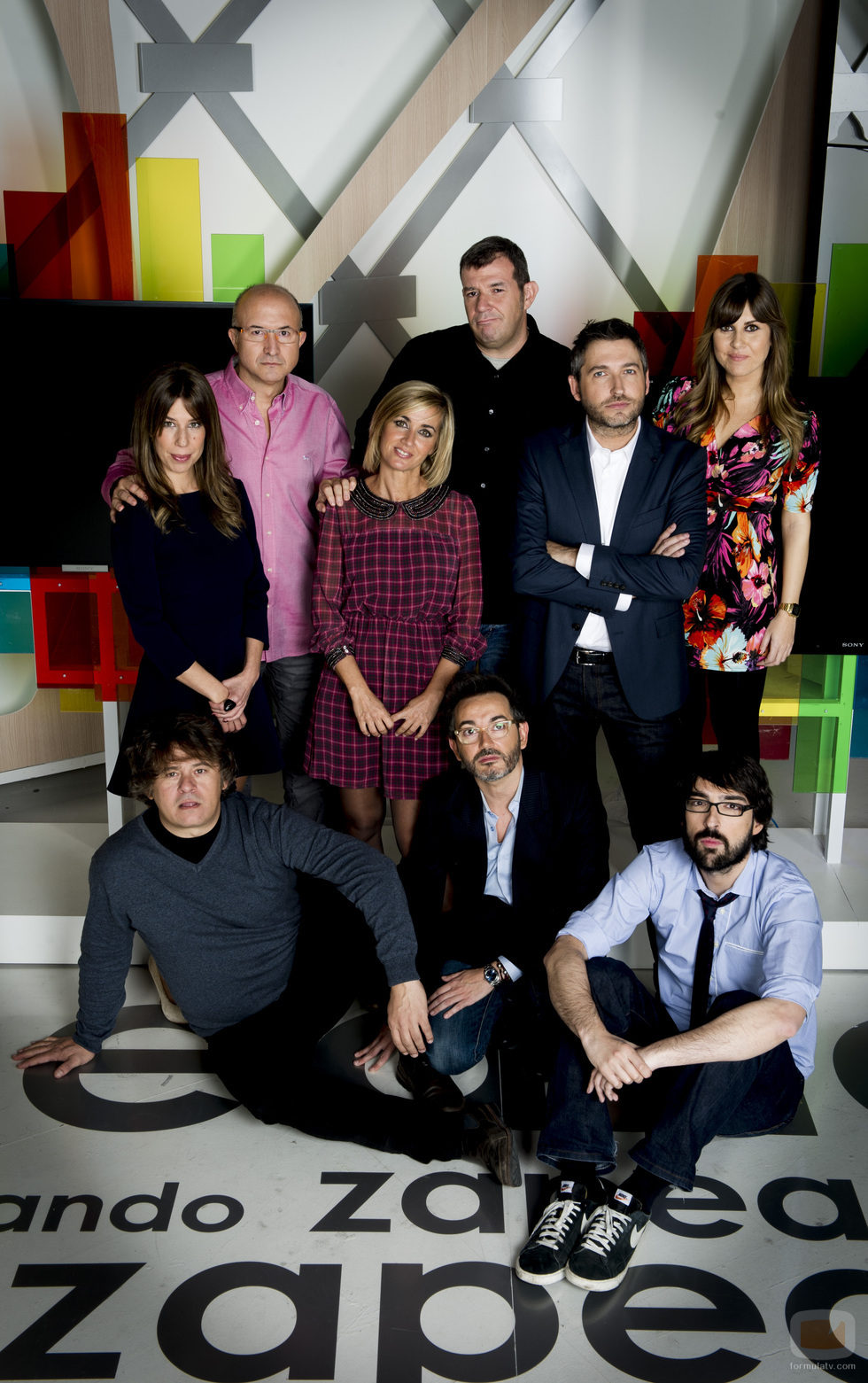 Los colaboradores de 'Zapeando' que acompañarán a Frank Blanco cada tarde