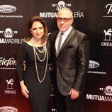 Gloria y Emilio Estefan en los Premios Ondas 2013