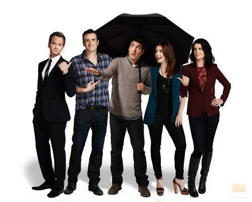 Los protagonistas de la novena temporada de 'Cómo conocí a vuestra madre'
