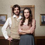 Jordi Coll y Ariadna Gaya en 'El secreto de Puente Viejo'