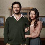 Rubén Serrano y Ariadna Gaya en 'El secreto de Puente Viejo'