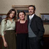 Carlota Baró, Adelfa Calvo y Fernando Coronado en 'El secreto de Puente Viejo'
