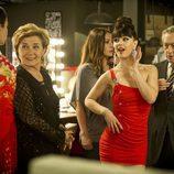 Beatriz Carvajal, Sara Vega y Luis Varela en 'Bienvenidos al Lolita'