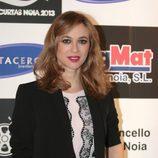 Marta Hazas en el preestreno de 'Galerías Velvet' en la Mostra de Curtas de Noia