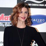 Manuela Velasco posa en el preestreno de 'Galerías Velvet' en la Mostra de Curtas de Noia