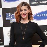 Manuela Velasco posa en el preestreno de 'Galerías Velvet' en Noia